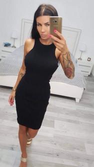 Γυναικείο φόρεμα 2623 μαύρο