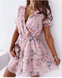 Γυναικείο φόρμα με φλοράλ ντεσέν 369001
