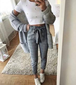 Γυναικείο παντελόνι πτι καρό 0063