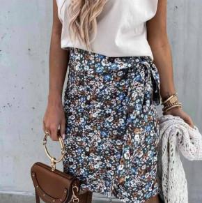 Γυναικεία φούστα με φιόγκο 2123605