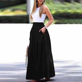 Γυναικεία μακριά φούστα 5002 μαύρη