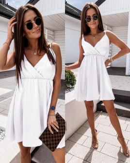 Γυναικείο φόρεμα 5122 άσπρο