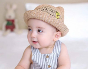 Βρεφικό καπέλο BF46 καμηλό