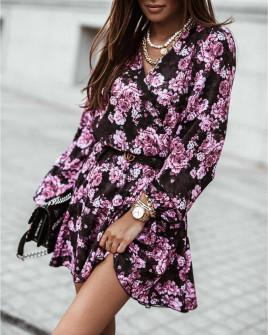 Γυναικείο φόρεμα με print 534701