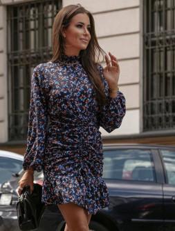 Γυναικείο φόρεμα με γιακά ζιβάγκο 2174203