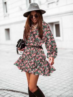 Γυναικείο φόρεμα με print 534704
