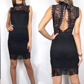 Γυναικείο φόρεμα 2733 μαύρο