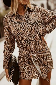 Γυναικείο φόρεμα με κουμπιά 606105