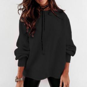 Γυναικείο πουλόβερ 2729 μαύρο