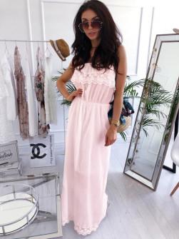 Γυναικείο φόρεμα 2685 ροζ