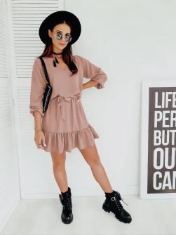 Γυναικείο φόρεμα 3461 ροζ