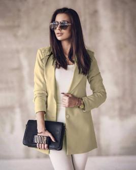 Γυναικείο κομψό σακάκι 8061 μπεζ