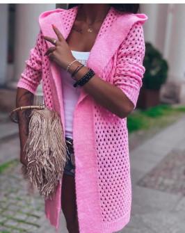 Γυναικεία ζακέτα 00616 ροζ