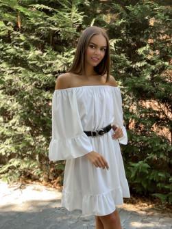 Γυναικείο φόρεμα 2704 άσπρο
