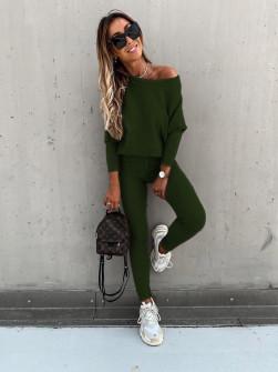Γυναικείο σετ 2159 σκούρο πράσινο