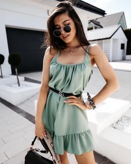 Дамска рокля 5201 мента