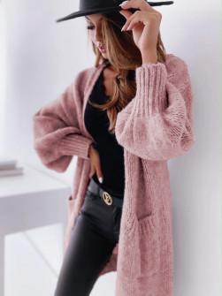 Γυναικεία ζακέτα 80601 ροζ