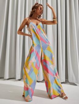 Γυναικεία ολόσωμη φόρμα με σχέδια  358402