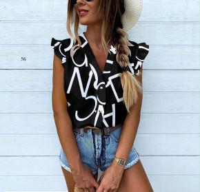 Γυναικεία αμάνικη μπλούζα  505903 μαύρη
