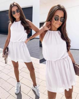Γυναικείο φόρεμα 5125 άσπρο