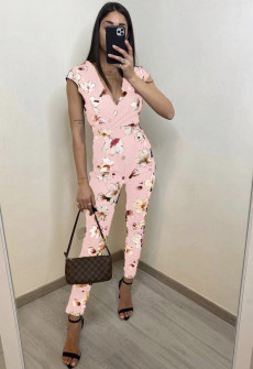 Γυναικεία ολόσωμη φόρμα 2308 ροζ