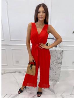 Γυναικεία ολόσωμη φόρμα 18600 κόκκινη