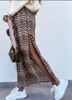 Γυναικεία μακριά φούστα με σκίσιμο 2115501