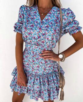 Γυναικείο φόρεμα με αξεσουάρ για τα μαλλιά 2133301