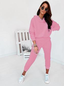 Γυναικείο σετ βελουτέ 10210 ροζ