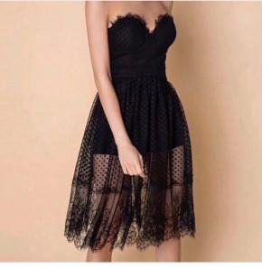 Γυναικείο φόρεμα με τούλι 345673