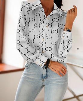 Γυναικείο πουκάμισο 398402 άσπρο