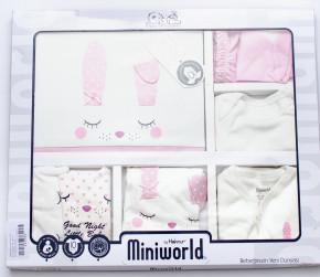 Βρεφικό σετ για νεογέννητο 10 τμχ 50514228 ροζ