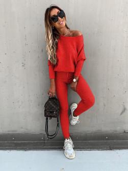 Γυναικείο σετ 2159 κόκκινο