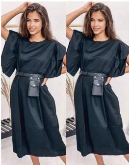 Γυναικείο μακρύ χαλαρό φόρεμα 20720
