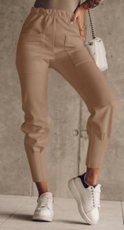 Γυναικείο παντελόνι 5542 καμηλό