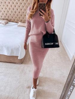 Γυναικείο σετ 13763 ροζ