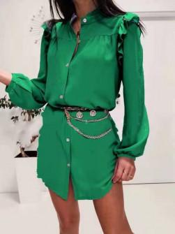 Γυναικεία πουκαμίσα 3458 πράσινη