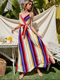 Γυναικείο μακρύ φόρεμα 583702