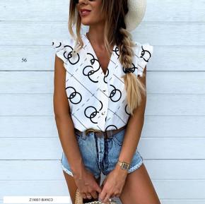Γυναικεία αμάνικη μπλούζα 505902 άσπρη