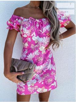Γυναικείο φόρεμα φλοράλ 2151603
