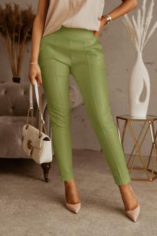 Γυναικείο απλό παντελόνι 5575 πράσινο