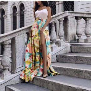 Γυναικεία φούστα φλοράλ 571505