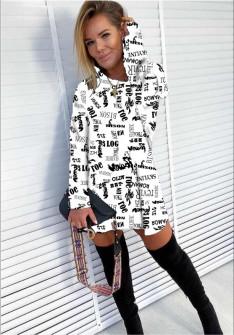 Γυναικείο μπλουζοφόρεμα 1977902