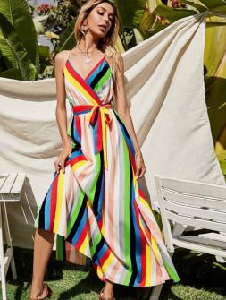 Γυναικείο μακρύ φόρεμα 583701