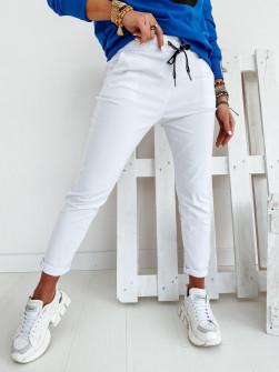 Γυναικείο αθλητικό παντελόνι 2389 άσπρο