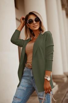 Γυναικείο σακάκι 5018 σκούρο πράσινο