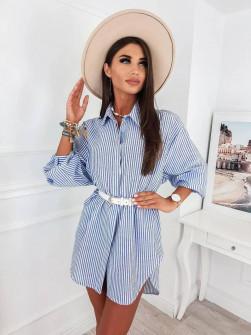 Γυναικείο πουκάμισο ριγέ 1003302