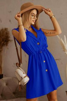 Γυναικείo κλος φόρεμα 5747 μπλε ρουά