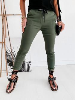 Γυναικείο αθλητικό παντελόνι 2389 σκούρο πράσινο