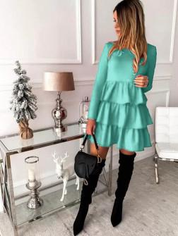 Γυναικείο φόρεμα 3952 μέντα
